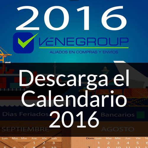 Calendario Venegroup 2016 - Venegroup Services