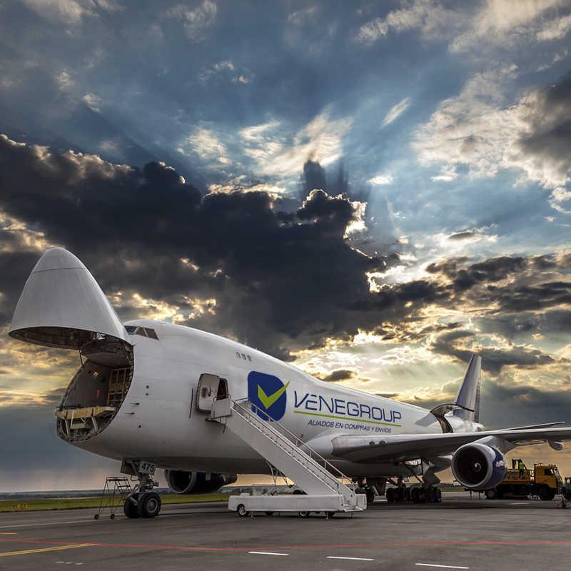 Envíos Vía Aérea - Venegroup Services