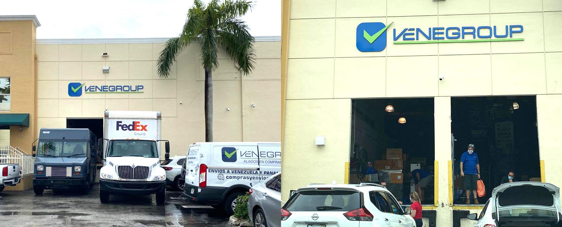 Recepción de Mercancía en Miami - Venegroup Services